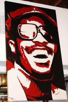 Stevie Wonder wall painting.   Someone tell me where to find this!