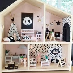 ideas baby room pastel ikea hacks for 2019 Ikea Dollhouse, Wooden Dollhouse, Dollhouse Dolls, Dollhouse Furniture, Ikea Home, Lol Dolls, Miniature Houses, Diy For Kids, Baby Room