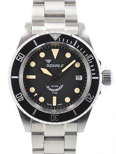Squale 1545-MI Swiss Automatic Dive Watch