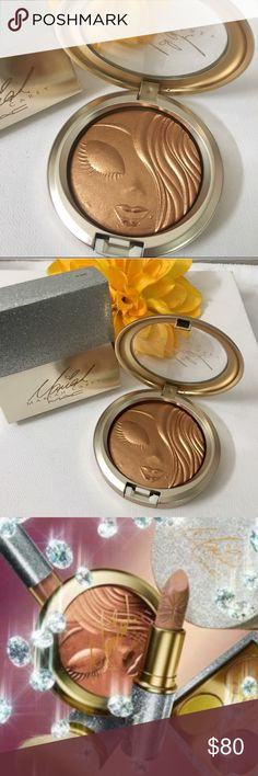 """✨Mac Mariah my mimi """" limited E sold out/wrldwide Authentic Mac Mariah my mimi powder ! Brand new with box ! Sold out world wide ! a must have for collectors ! MAC Cosmetics Makeup Luminizer"""