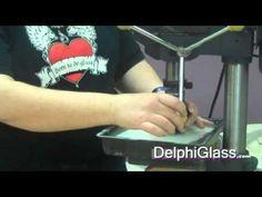Glass Tools: How to Drill a Hole in Glass