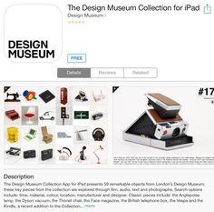 What makes a classic design object? This excellent app explores 59 cult design pieces.
