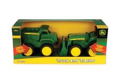 John Deere Sandbox truck and tractor
