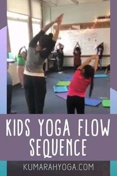 Kids Yoga Poses, Yoga For Kids, Yoga Videos For Kids, Meditation Kids, Mindfulness For Kids, Yoga Flow Sequence, Yoga Sequences, Learn Yoga, How To Do Yoga