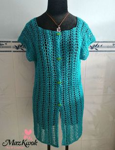 Summer Air Cardi Vest By Maz Kwok - Free Crochet Pattern - (beacrafter)
