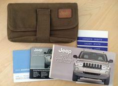 2005 Jeep Grand Cherokee Factory Owners Manual Service Maintenance Logbook, Case #Jeep #Cherokee #RacingWorks #Manual #Book