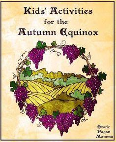 Kid's Activities for Autumn Equinox