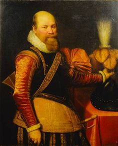 Jan Anthonisz van Ravesteyn (and studio), Portrait of an Officer, Mauritshuis (inv. 439)