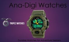 Tropez Watches - designed to suit the liking of those who prefer bold and multi-function watches