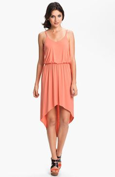Perfect for Mexico! Lush High/Low Dress (Juniors) available at #Nordstrom