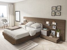 Dormitorio moderno (168 – D28) - Muebles CASANOVA