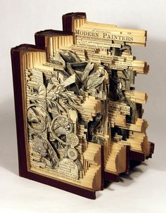 Brian Dettmer's Altered Books!