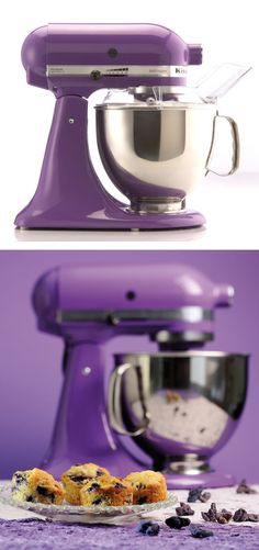 This was made for me!!!!!......KitchenAid Mixer // purple #radiant_orchid Pantone Color of the Year 2014
