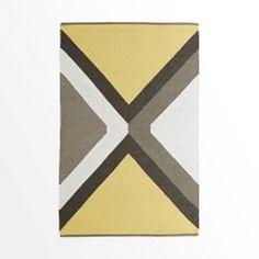 Diamond Point Wool Kilim Rug