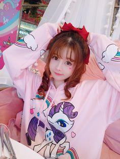 微博 Cute Japanese Girl, Cute Korean Girl, Cute Asian Girls, Cute Girls, Pastel Fashion, Kawaii Fashion, Cute Fashion, Cute Cosplay, Cosplay Girls