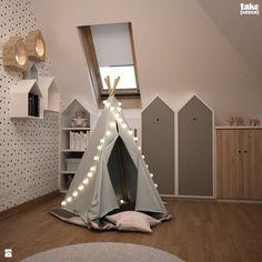 Pokoik dziecięcy na poddaszu. - zdjęcie od TAKE [DESIGN] - Pokój dziecka - Styl Nowoczesny - TAKE [DESIGN]