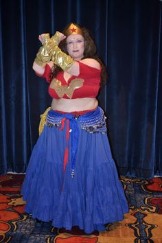 Margaret, Founder of Different Drummer Belly Dance Troupe. (plus size belly dance ♥)