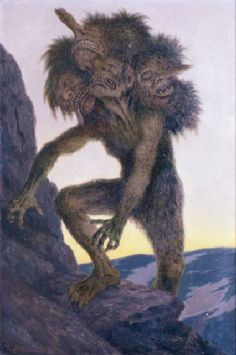 Kittelsen - Mountain Troll