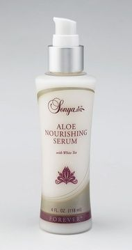 a® Aloe Nourishing Serum with white tea extract preserves and replenishes your skin's moisture to help maintain its youthful appearance. Its lightweight formula is so smooth that it is effortless to apply. It makes a perfect base for Sonya® Aloe Balancing Cream. http://www.healeraloe.flp.com/