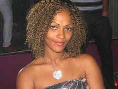 colored curls 40 Natural Hair Styles For Black Women Which Are Cool