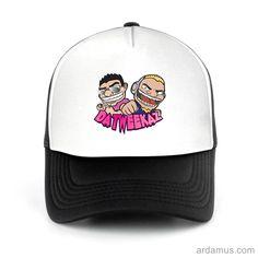 Da Tweekaz Trucker Hat for men or women. Available color black, red, pink, green. Shop more at ARDAMUS.COM #djtruckerhat #djcap #djsnapback #djhat
