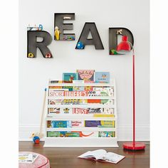 Kids Wall Decor: Metal Hanging Wall Letters | The Land of Nod