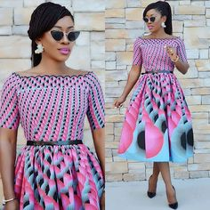 2018 Latest And Hottest Ankara Styles And Dresses For Ladies  DabonkeFacebookTwitterEmail AppPinterestAddThis
