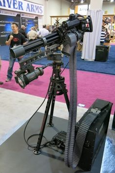 M134 Minigun with M88A Hellfighter Mount and Hellfighter light.
