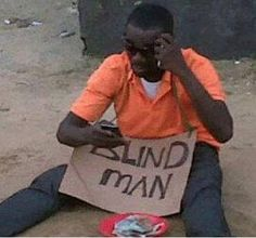 Blackberry cures a blind man via mufluv