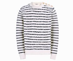 Valentino Pull rayé http://www.vogue.fr/vogue-hommes/mode/diaporama/pull-en-maille-homme/21047/image/1111017#!valentino-pull-raye-en-laine-feutree-790-euros