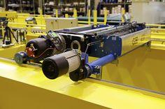 Polipasto birrail modelo GHB11. GH Cranes & Components