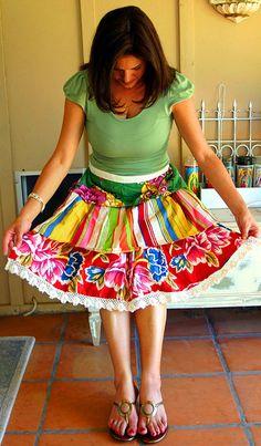 wear an apron for fashion!