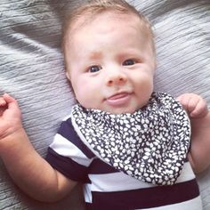 Cute little boy  With LittlePetit Bib
