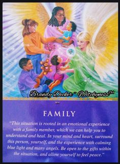 Daily Guidance Card (Family) from Your Oracle Cards