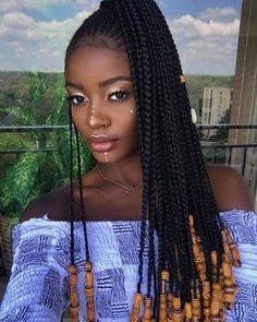 Hair braiding styles 2018 uphairstyle black braided hairstyles black braids hairstyle for y to big plaits hairstyle elegant roach black women hairstyles with Braided. Box Braids Hairstyles, Braided Ponytail Hairstyles, Braided Hairstyles For Black Women, African Hairstyles, Girl Hairstyles, Hairstyle Ideas, Black Hairstyles, Hairstyles 2018, Beautiful Hairstyles