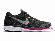 release date: cb6da ce227 Site Nike Flyknit Lunar 3 Chaussures Officiel Nike Pour Homme Noir/Gris…  Nike Flyknit