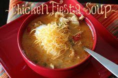 Chicken Fiesta Soup!