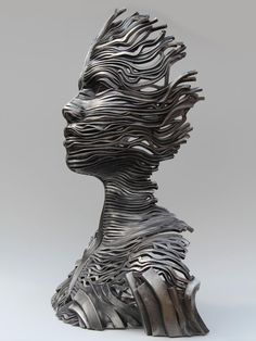 Flow Series Sculptures by Gil Bruvel