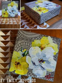 Not Your Average Yellow Rose: New painting by Emily Jeffords www.emilyjeffords.com