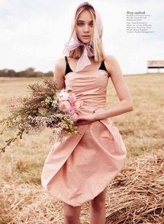 Rosie Tupper - Vogue Australia - December '12