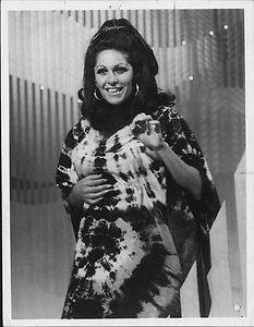 1970 Lainie Kazan Performing Ed Sullivan Show Press Photo | eBay