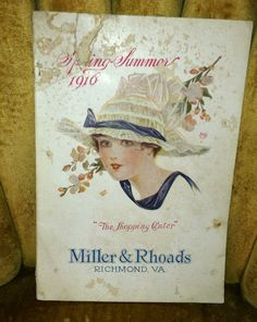 Miller & Rhoads Catalog dated 1916