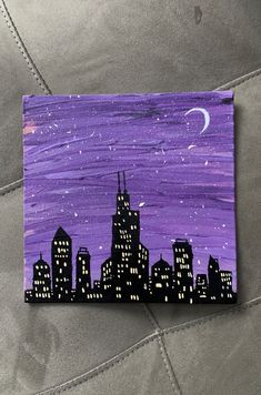 Small Canvas Paintings, Easy Canvas Art, Small Canvas Art, Cute Paintings, Easy Canvas Painting, Mini Canvas Art, Simple Acrylic Paintings, Diy Canvas, Hippie Painting
