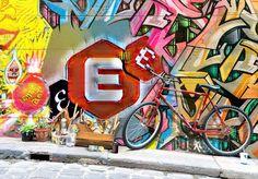 #street #art #creativity #frontistirioefstathopoulos Street Art, Creativity, Neon Signs, Painting, Painting Art, Paintings, Painted Canvas, Drawings