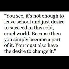Mr. Feeny quote ~ Boy Meets World