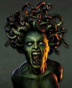 WRATH.......☆ Medusa :: Artist Unknown ☆....Seven Deadly Sins