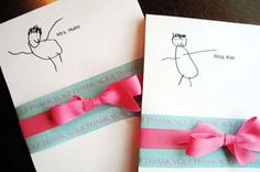 Turn a favorite drawing into a note pad