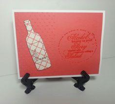 Alcohol Card by KatsHandmadeCreation on Etsy