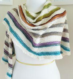 Ravelry: Rip Tide shawl pattern by Danielle Landes