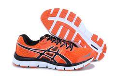 Asics Gel Quik 33 Men Running Shoes Orange White
